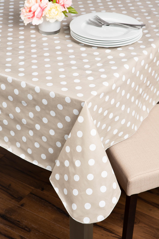 Attirant 70 Inch Vinyl Tablecloth | Wayfair