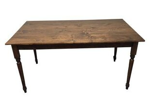 August Grove Coventry Solid Wood Dining T..