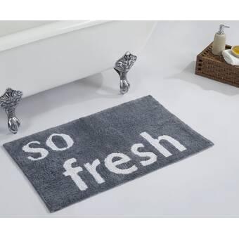 Arkwrightllc Provence Premium Rectangle 100 Cotton Reversible Striped Bath Rug Wayfair