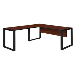 Ebern Designs Mireya L-Shape Executive Desk