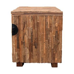 Strips Wooden Cabinet by Asian Art Imports