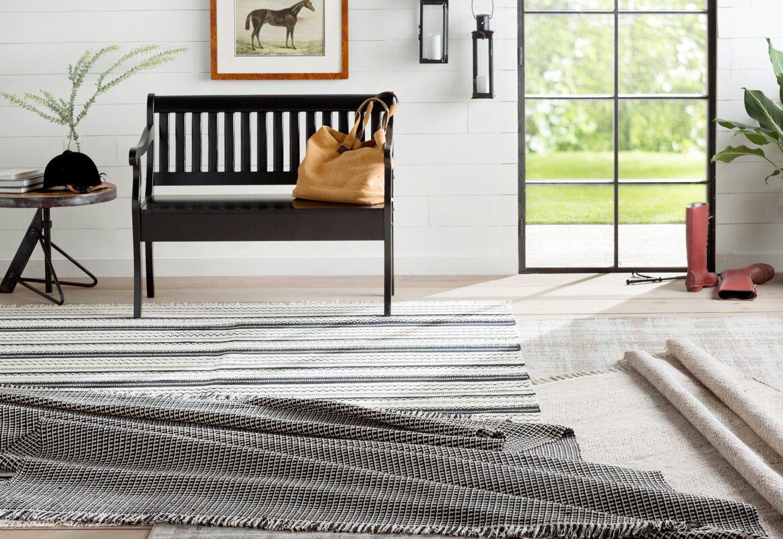 Alston Brown/Neutral Indoor/Outdoor Area Rug