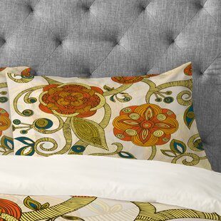 Valentina Ramos Flowers Pillowcase by Deny Designs Cool