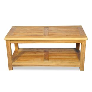 Rondon Solid Wood Coffee Table by Loon Peak