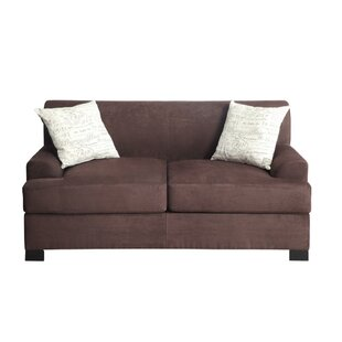 Cassano Loveseat with 2 Pillows by Ebern Designs