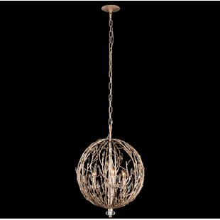 orb light fixture. Bask Orb 3-Light Crystal Chandelier Light Fixture