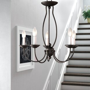 Read Reviews Williams 5-Light Chandelier By Three Posts