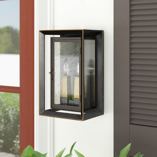 Zelma 2-Light Outdoor Wall Lantern By Laurel Foundry Modern Farmhouse Outdoor Lighting