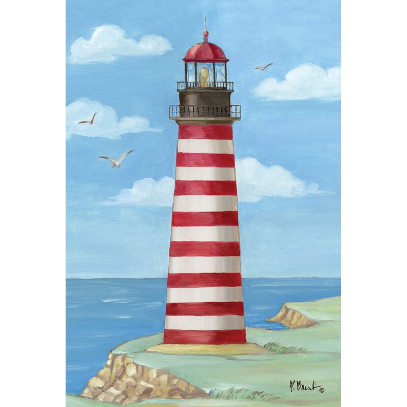 Toland Home Garden West Quoddy Head Lighthouse 28 X 40 Inch House Flag Wayfair