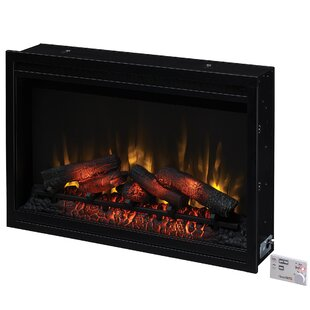 Banning Traditional Wall Mounted Electric Fireplace Insert by Winston Porter