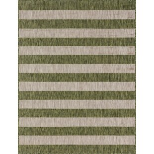 Hood Green/Beige Indoor/Outdoor Area Rug