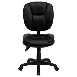 Flash Furniture Personalized Leather Desk Chair