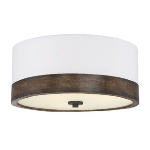 George Oliver Bulluck 3-Light Flush Mount