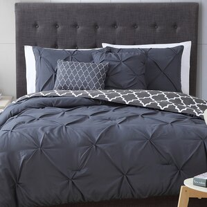 Best Comforter Material gray & silver bedding sets you'll love | wayfair