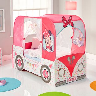 Dionne Convertible Toddler Car Bed By Mickey Mouse & Friends