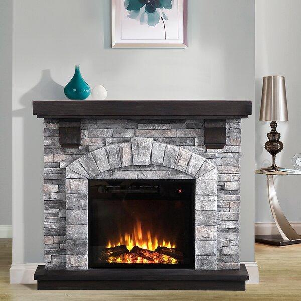 Stone Corner Fireplace Wayfair