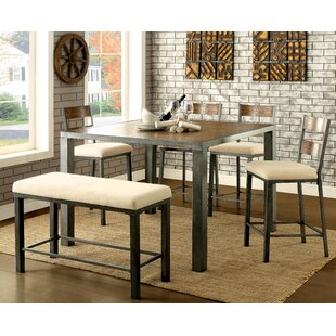 Thurman 6 Piece Counter Height Dining Table Red Barrel Studio