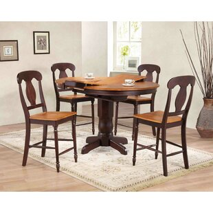 Napoleon Counter Height 5 Piece Pub Table Set Iconic Furniture