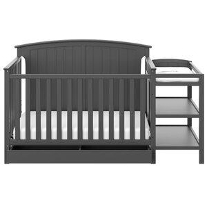 Storkcraft Steveston 4-in-1 Convertible Crib and Changer