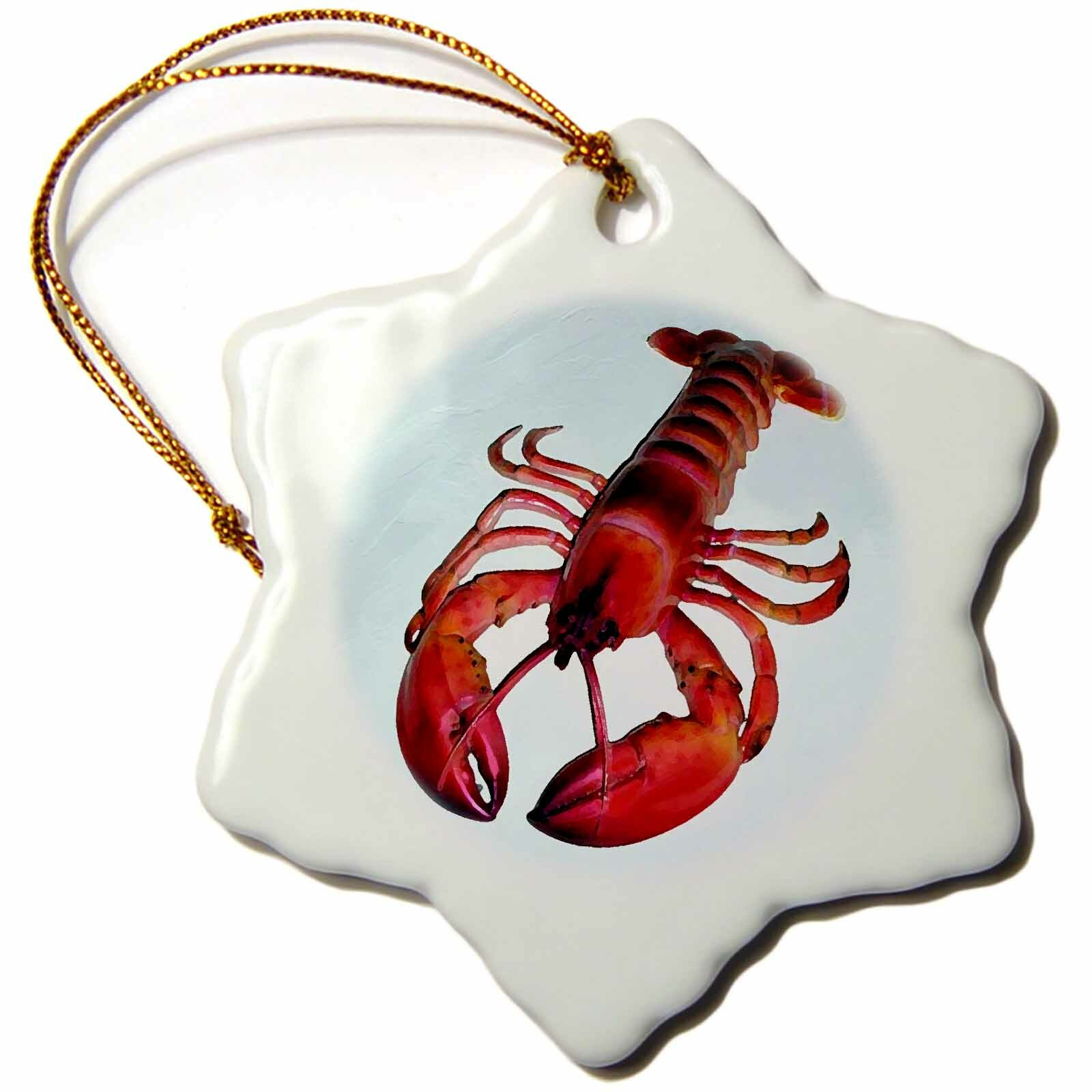 The Holiday Aisle Lobster Holiday Shaped Ornament Wayfair