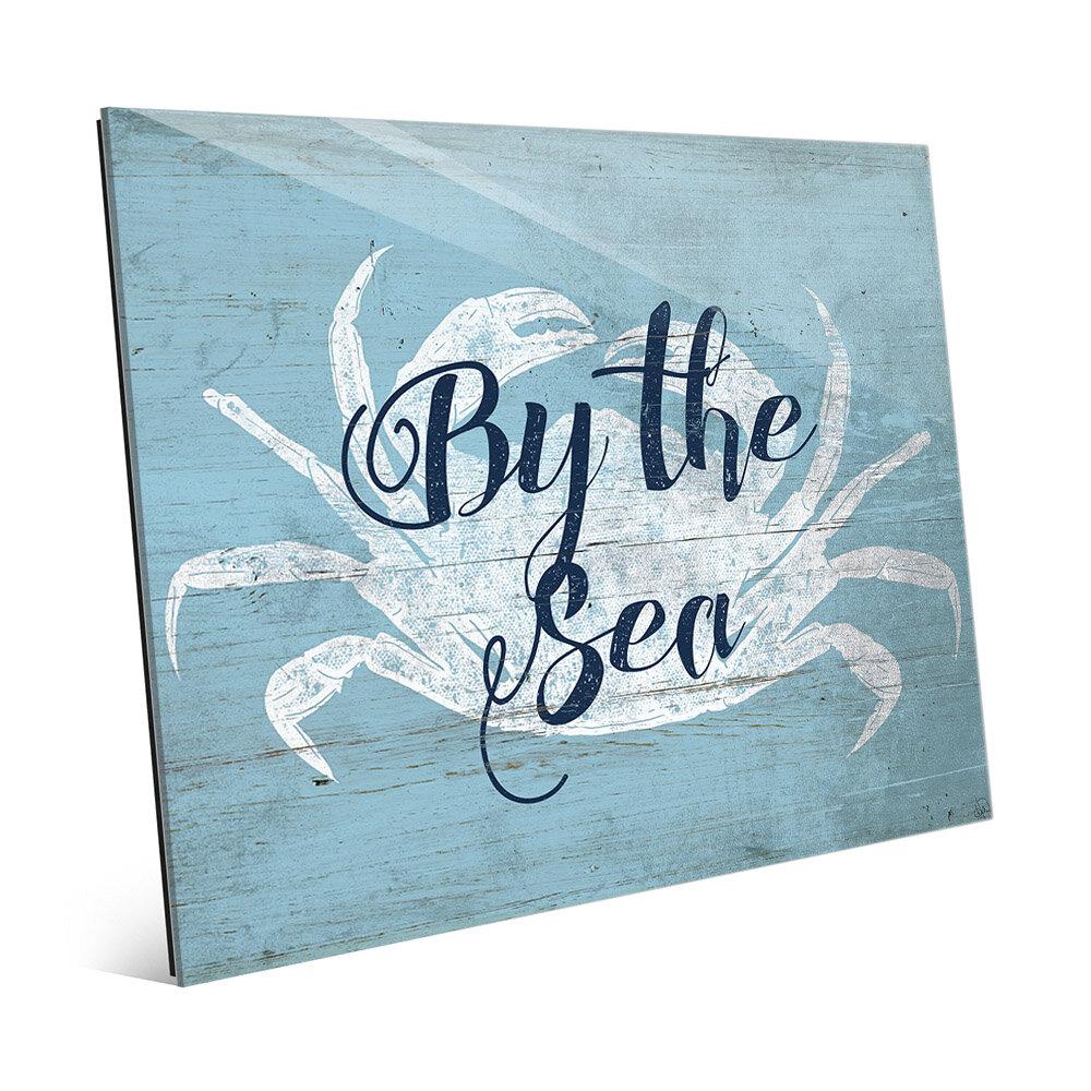 Click Wall Art Crab By The Sea Iii Textual Art Wayfair