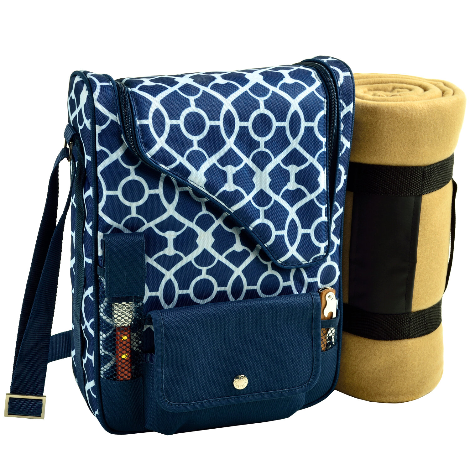 Picnic At Ascot 2 Can Bordeaux Wine And Cheese Picnic Cooler Wayfair