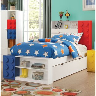 Hymes Storage Twin Panel Bed by Zoomie Kids