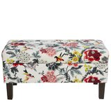 Tressie Upholstered Storage Bench by Bungalow Rose