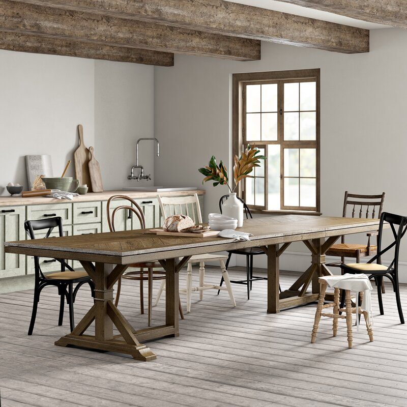 Buck Extendable Dining Table