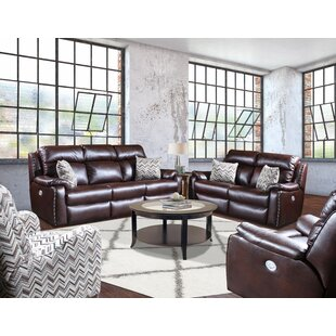 Ribbon Reclining 3 Piece Living Room Set