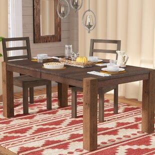 Mistana Trevion Leg Extendable Dining Table