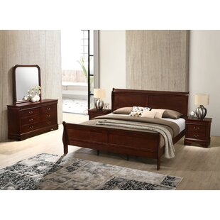 Braiden Sleigh 5 Piece Bedroom Set by Charlton Home