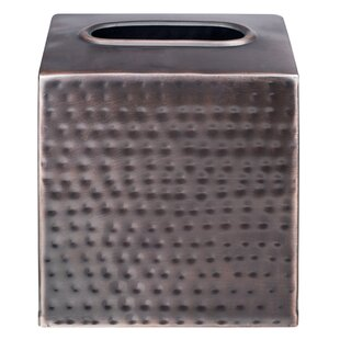 Jerlene Metal Tissue Box Cover by Williston Forge