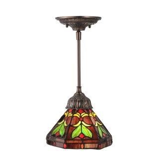 Meyda Tiffany Middleton 1-Light Dome Pendant