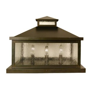 Arroyo Craftsman Canterbury 4-Light Pier Mount Light