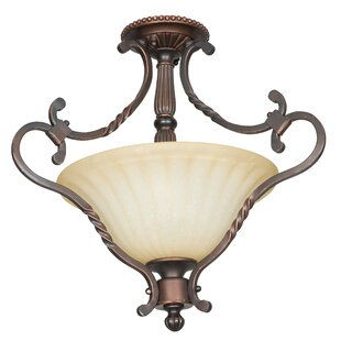 Vandervoort 2-Light Semi-Flush..