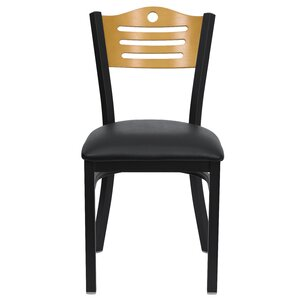 Chafin Slat Back Side Chair (Set of 2) by Winston Porter