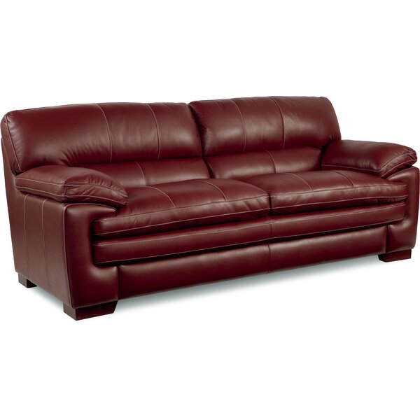 La Z Boy Dexter Leather Sofa U0026 Reviews   Wayfair
