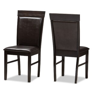 Winston Porter Felten Upholstered Dining Chair (Set of 2)