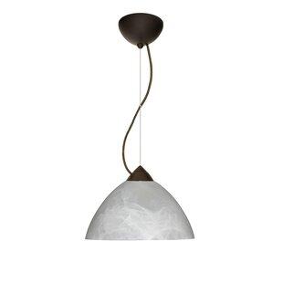 Besa Lighting Tessa 1-Light Dome Pendant