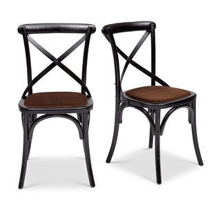 Affordable Gesele Upholstered Dining Chair (Set of 2) by Gracie Oaks Reviews (2019) & Buyer's Guide