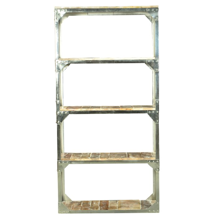 Industrial Etagere Bookcase