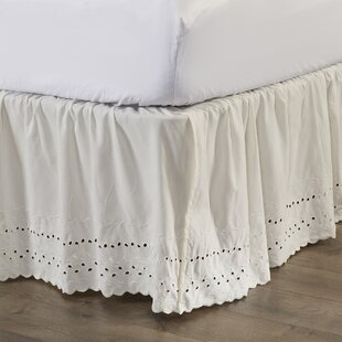 "Bed Skirt 14/"" Fall Long Staple Fiber Solid Egyptian Comfortable Durable"