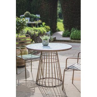 Rhoades Metal Bistro Table By Canora Grey