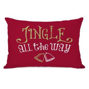 Jingle All the Way Lumbar Pillow