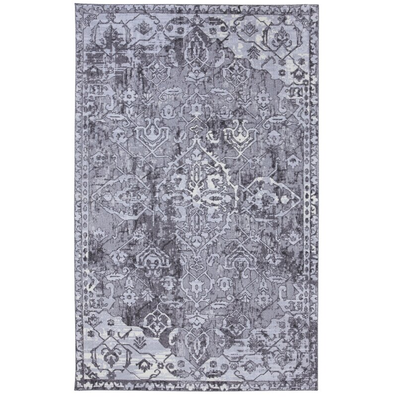 Under The Canopy Mohawk Gray Area Rug