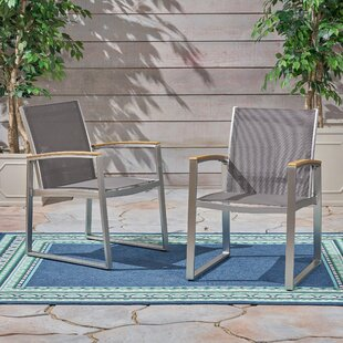 Clayhatchee Patio Dining Chair (Set of 2)