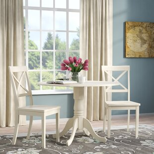 Andover Mills Abrahamic 3 Piece Drop Leaf Dining Set