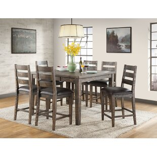 Burkhalter Extendable Solid Wood Dining Table by Union Rustic Great price
