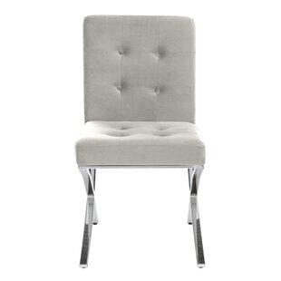 Orren Ellis Goslinga Tufted Upholstered Dining Chair